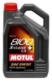 Huile 5w30 8100 x-clean+ 5 litres - motul