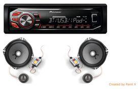 Pack autoradio pioneer et haut parleur focal is170 - FOCAL