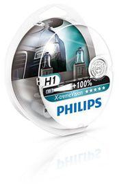 Coffret ampoules x-treme vision h1 - PHILIPS