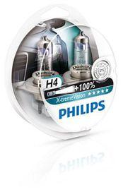 Coffret ampoules x-treme vision h4 - PHILIPS