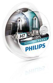 Coffret ampoules x-treme vision h7 - PHILIPS