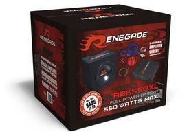 Pack caisson ampli sub renegade rbk550xl basskit - RENEGADE