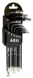 Set de 9 clés étoile + support - AEG