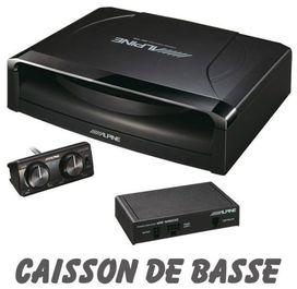 Caisson amplifier compact alpine swe1200 - ALPINE
