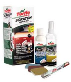 kit de reparation rayures sur carrosserie turtle wax yakarouler