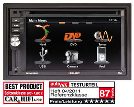 Station multimedia double din zenec ze nc620d - zenec