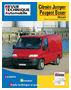 Revue Technique 583.1 Citroen Jumper Et Peugeot...
