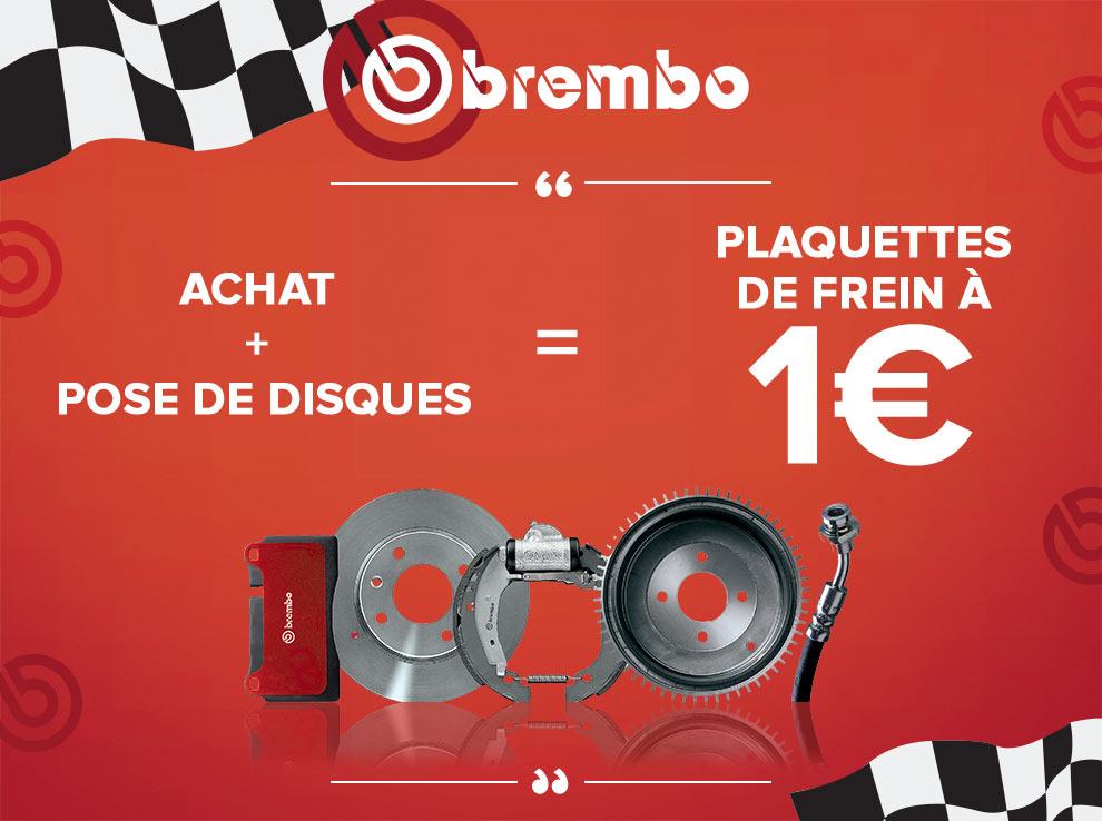 Promotion Brembo Plaquettes de disques de frein