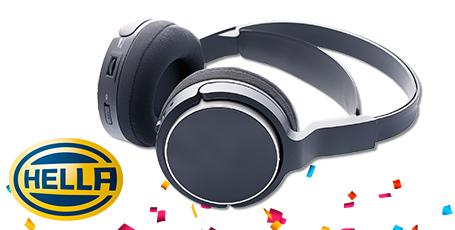 12 casques audio à gagner pour toute commande sur la marque Hella *