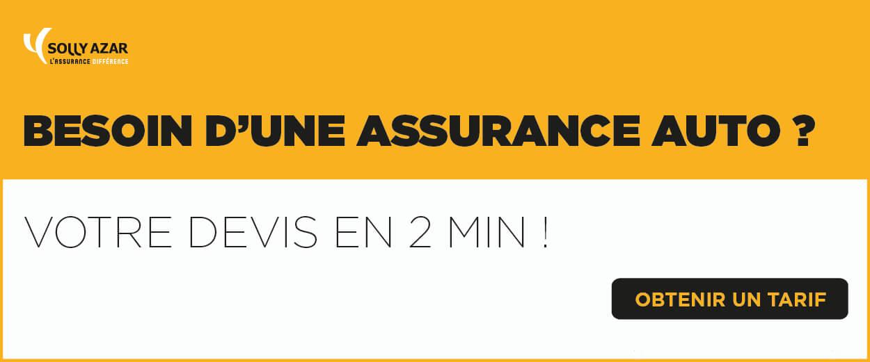 Besoin d'une assurance auto ? Votre devis en 2min !