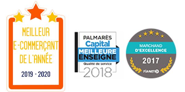 Meileur e-commerçant de l'année 2019-2020
