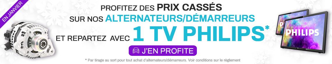 INSTANT GAGNANT : Prix cassés sur les alter/dem et en plus repartez avec une TV Philips *