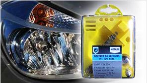 DIFAXA Coffret Ampoules H1/H4/H7